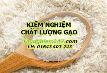kiểm nghiệm chất lượng gạo