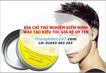 Địa chỉ kiểm nghiệm wax tạo kiểu tóc giá rẻ