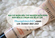 Địa chỉ thử nghiệm kem nền cc cream giá rẻ